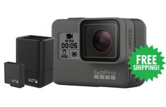GoPro HERO5 Black + Dual Battery Charger & Battery