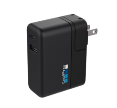 GoPro Supercharger (Dual Port Fast Charger for GoPro Cameras and USB Devices)