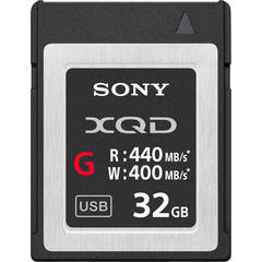 Sony 32GB XQD Memory Card G Series - QDG32E/J