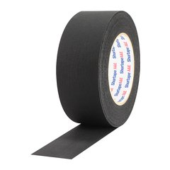 "Pro-Tapes Shurtape P743 Matte Photographic Masking Tape - 2"" Black"