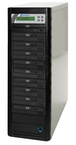 Microboards Blu-ray Tower Duplicator - 10-Bay