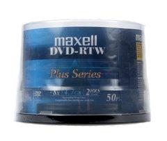 Maxell DVD-RTW 4.7GP 8X Shiny White Thermal Printable