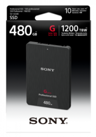 Sony 480GB G-Series SSD