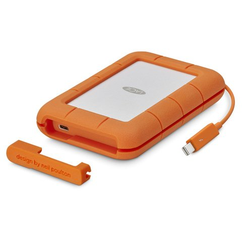 LaCie 1TB Rugged Thunderbolt USB-C SSD