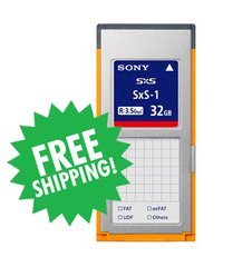 Sony SxS-1 32GB Memory Card - SBS32G1C