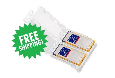Sony SxS-1 32GB Memory Card, Pack of 2 - 2SBS32G1C