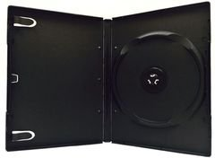 Evergreen 14mm 6-Disc DVD Case with Stacking Hub