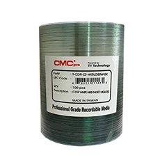 CMC Pro 52x CD-R High Gloss White Inkjet Printable, 100 Discs