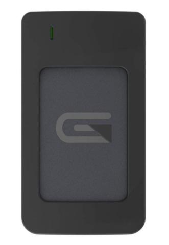 Glyph 2TB AtomRAID SSD, USB C (3.1, Gen2)/ USB 3.0/Thunderbolt 3, Grey