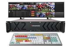 Streamstar X2 - 2RU Rackmount Live Production and Streaming System (HDMI)