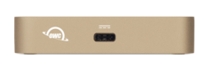OWC USB-C Travel Dock, Gold