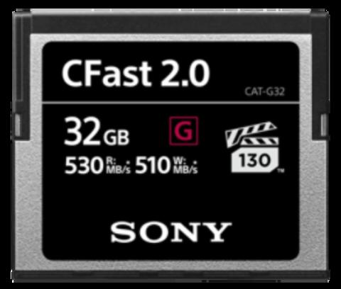 Sony 32GB CFast 2.0