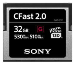 Sony 32GB CFast 2.0 Memory Card