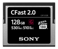Sony 128GB CFast 2.0 Memory Card