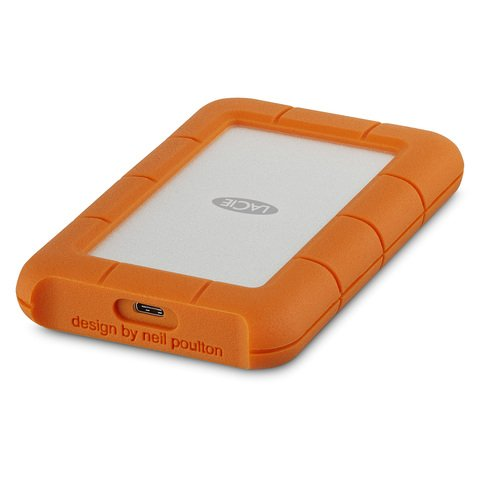 LaCie 2TB Rugged USB-C