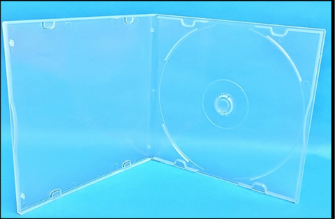 Evergreen 5.2mm Slimline Poly CD/DVD Case
