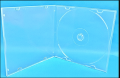 Evergreen 5.2mm Slimline Poly CD/DVD Case