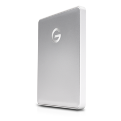 G-Technology 2TB G-DRIVE Mobile USB-C, Silver