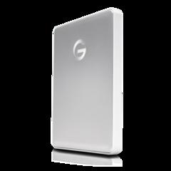 G-Technology 2TB G-DRIVE Mobile USB-C, Silver