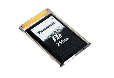 Panasonic 256GB expressP2 Card - AU-XP0256AG 256 GB