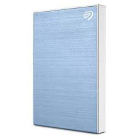 Seagate 1TB Backup Plus Slim Portable Drive - Light Blue