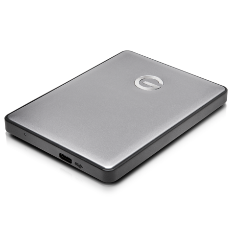 G-Technology 4TB G-DRIVE Mobile USB-C, Space Gray