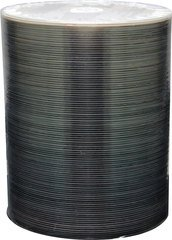 Spin-X Clear Coat Diamond Bottom CD-R - Spindle of 100