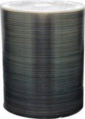 Spin-X 52x CD-R Silver Inkjet Printable - 100 Discs