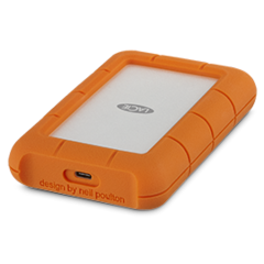 LaCie 1TB Rugged USB-C- USB 3.1