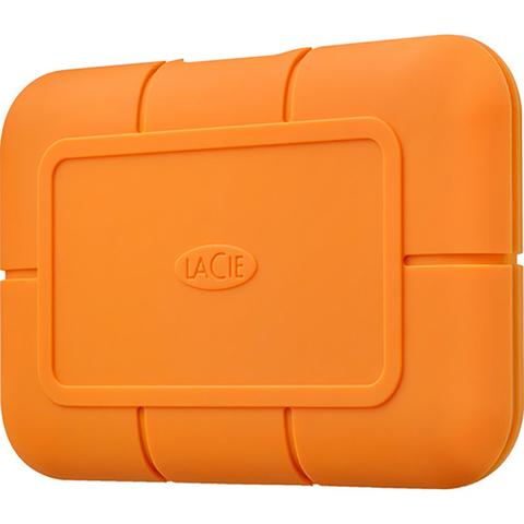 LaCie 500GB Rugged USB 3.1 Type-C External SSD