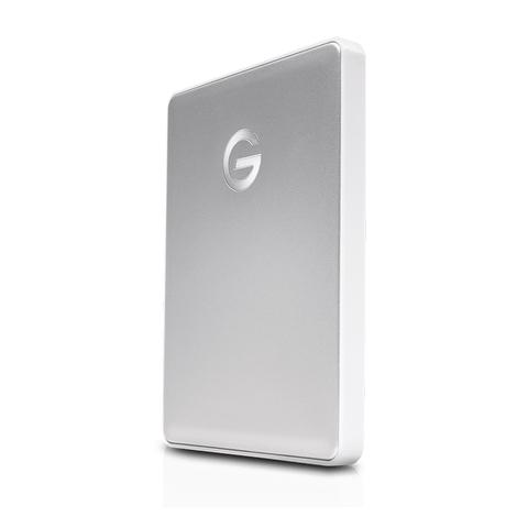 G-Technology 4TB G-DRIVE Mobile USB-C, Silver