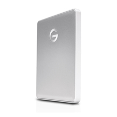 G-Technology 4TB G-DRIVE Mobile USB-C, Silver