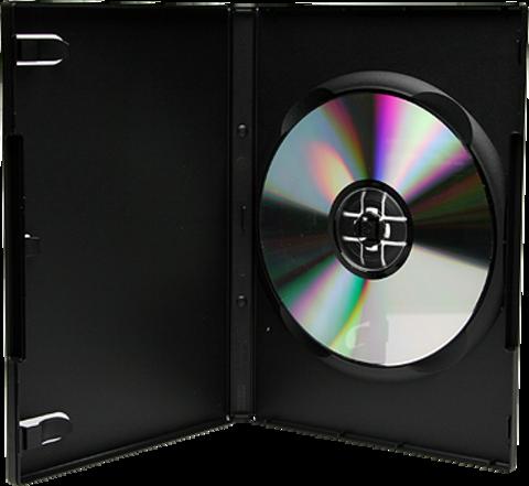 Bethel Plastics DVD Case-Full Sleeve-Black