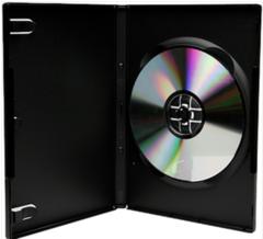 Evergreen 14mm Single DVD Case - Black