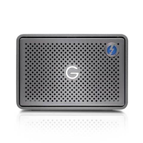 Sandisk Professional, G-Raid 2, 12TB, USB 3.1, Thunderbolt 3, Space Grey