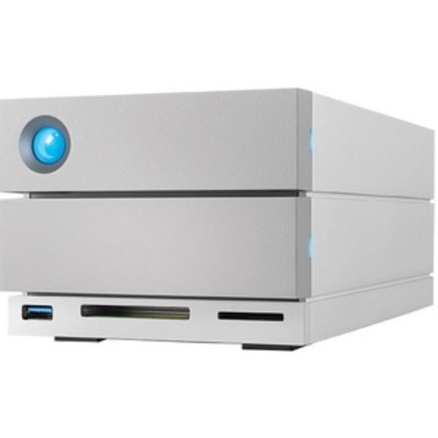 LaCie 2big Dock Thunderbolt 3 16TB - 2 x HDD Supported