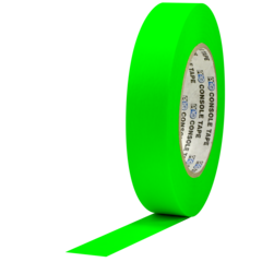 Pro-Tapes Console Tape 1 Inch Fluorescent Green