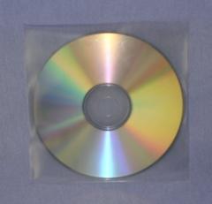 Evergreen Clear Vinyl Plastic Single Disc Sleeve - No Flap