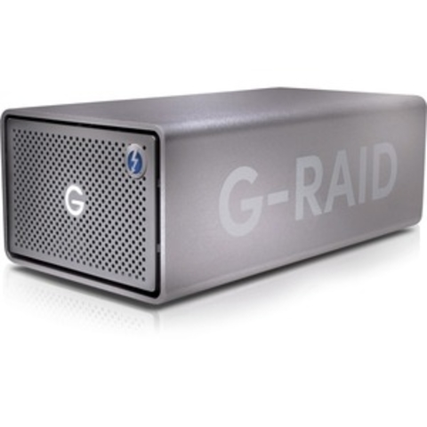 Sandisk Professional, G-Raid 2, 8TB, USB 3.1, Thunderbolt 3, Space Grey