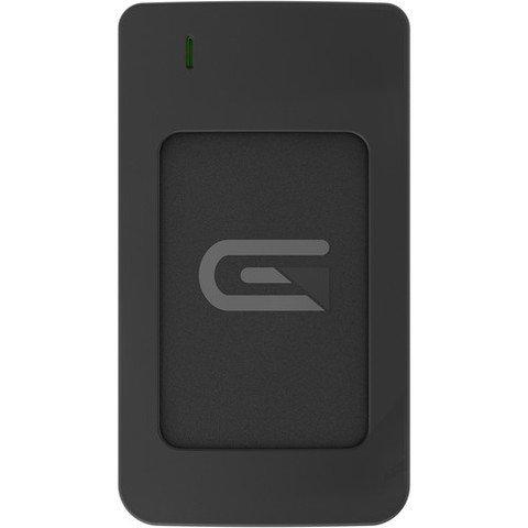 Glyph 2TB AtomRAID SSD, USB C (3.1, Gen2)/ USB 3.0/Thunderbolt 3, Black