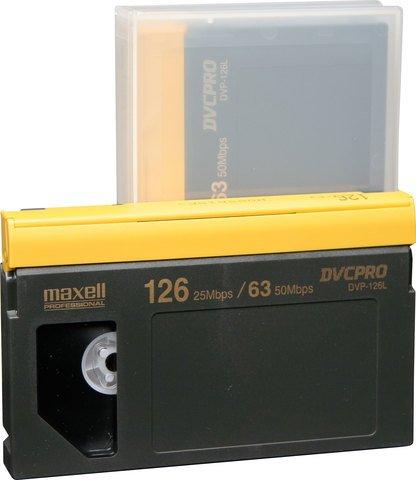 Maxell DVCPRO Large Cassette DVP-126L