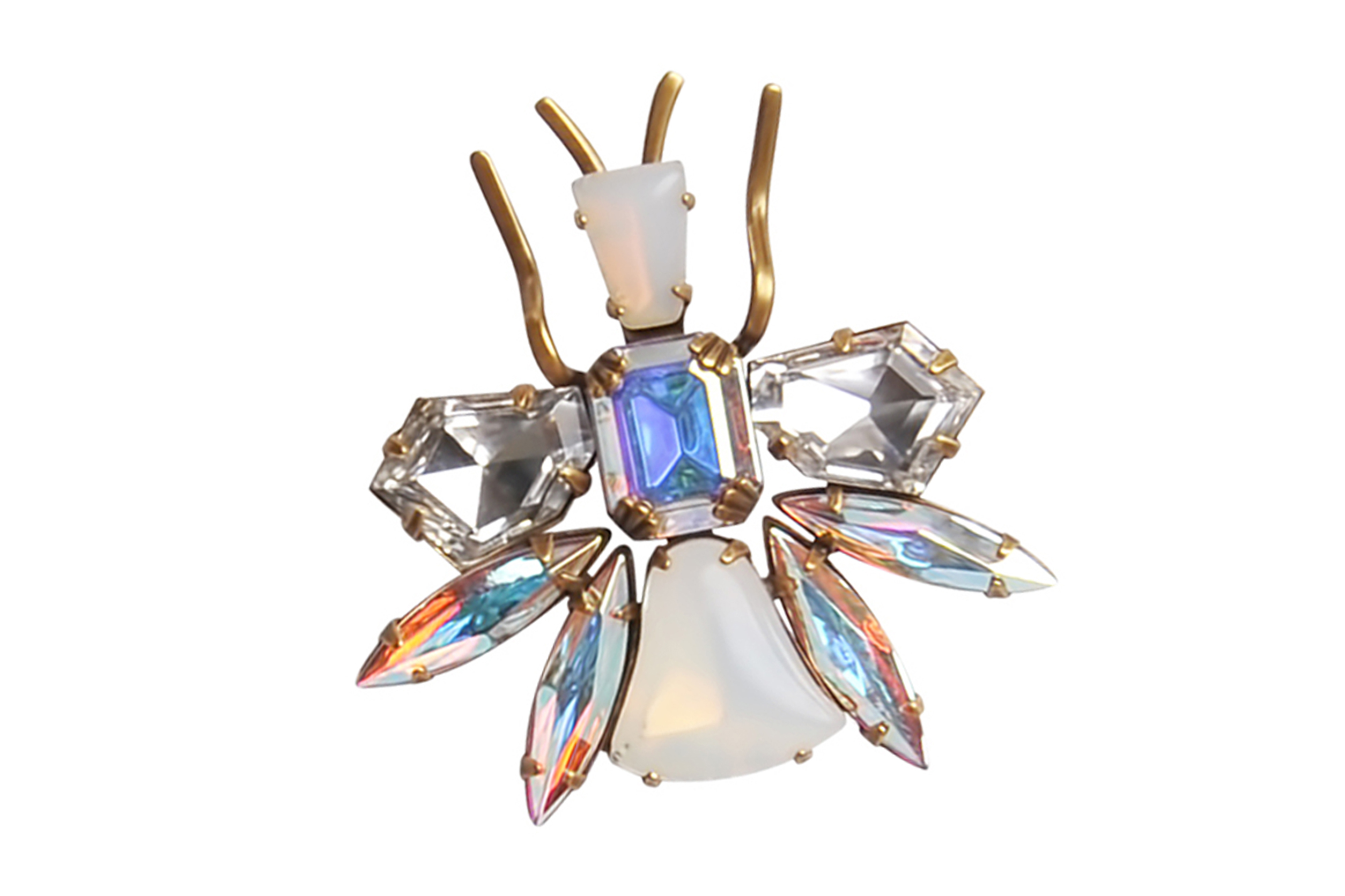 FALL / WINTER 17 LILLI BUG BROOCH - GOLD