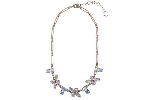 CHLOE STATEMENT NECKLACE IN SILVER