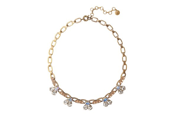 KRISTEN STATEMENT NECKLACE IN GOLD