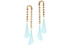 JENNIFER EARRINGS - TOPAZ AB - AQUA