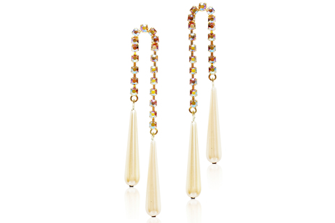 JENNIFER EARRINGS - TOPAZ AB - PEARL