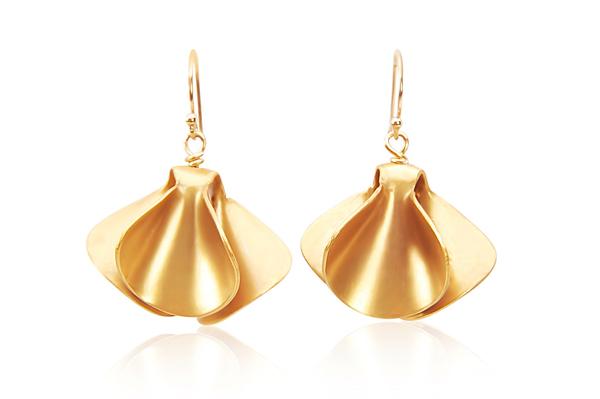 EMMALINE EARRINGS IN GOLD