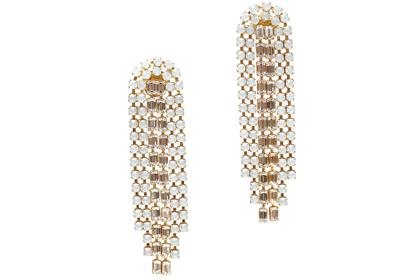 SLOAN CHANDELIER EARRINGS - CRYSTAL