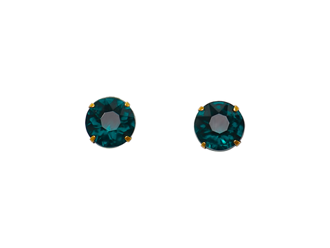 KENDRA STUD EARRINGS - IN TEAL