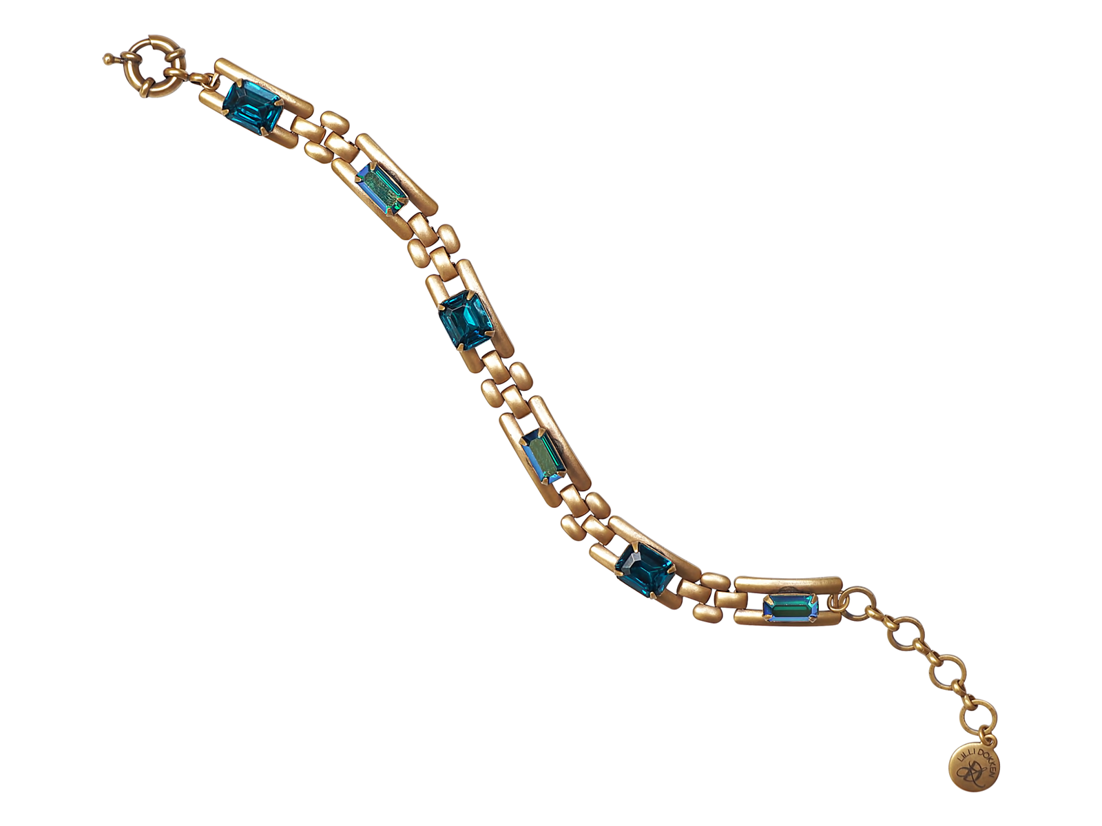 LYNDSEY BRACELET IN CRYSTAL TEAL